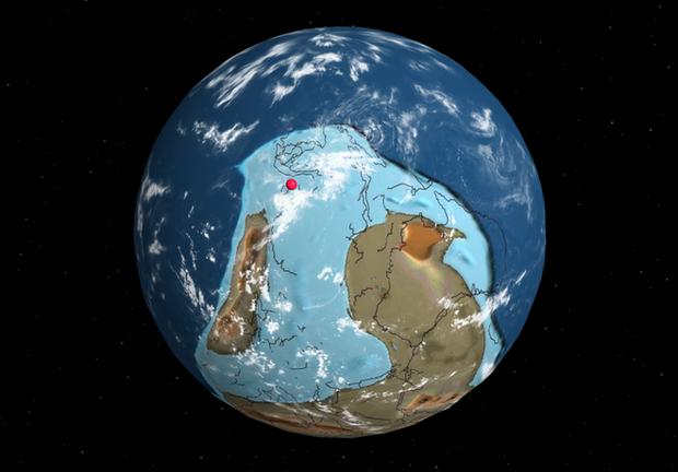 Vùng đất hiện tại là Hà Nội từng nằm sâu dưới biển 540 triệu năm về trước
